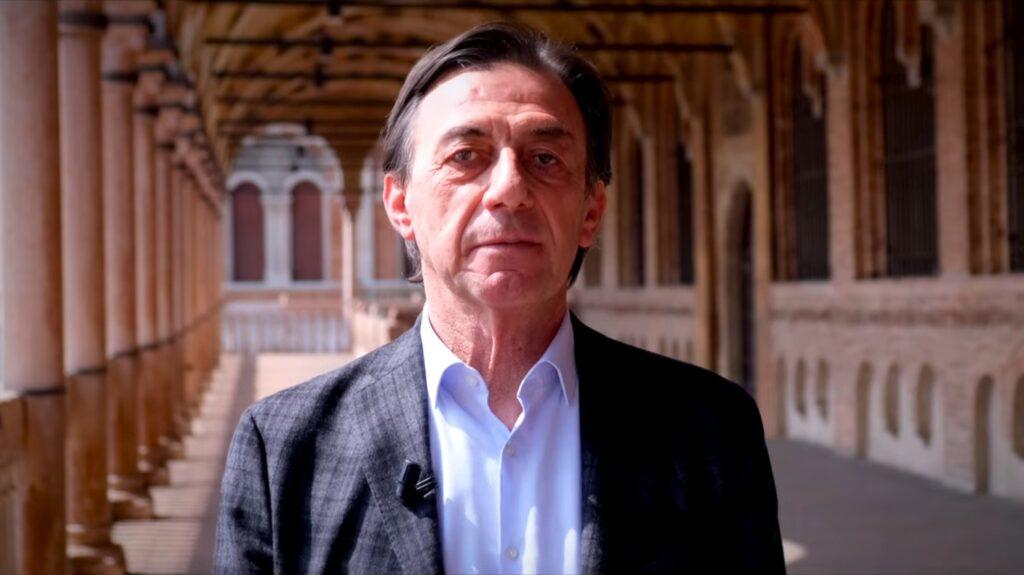 Sergio Giordani (foto da YouTube)